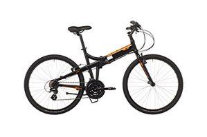 Ecosmo 26AF18BL Klappbare MTB Fahrrad 66/cm R/äder Aluminium Shimano